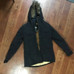 Stussy warm jacket hood small